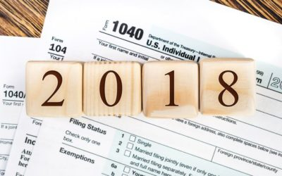 Important Tax Changes for 2018
