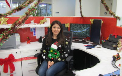 Wheeler Ugly Sweater and Cube Decorating Contest