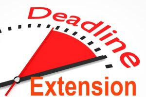 Image result for deadline extension